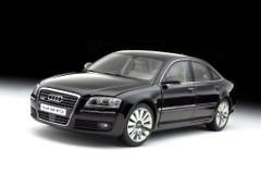 1/18 Kyosho Audi A8 D3 W12 (Black) Diecast Car Model