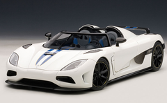 1/18 AUTOART KOENIGSEGG AGERA (WHITE) 79008 DIECAST CAR MODEL