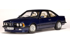 RARE 1/18 AUTOart BMW E24 M635Csi M635 Csi M6 (Royalblue Metallic) Diecast Car Model 70527