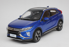 1/18 Dealer Edition Mitsubishi Eclipse Cross (Blue) Diecast Car Model