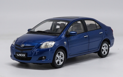 1/18 Dealer Edition Toyota Yaris / Vios (Blue) 2nd Generation (XP90; 2007–2013) Diecast Car Model