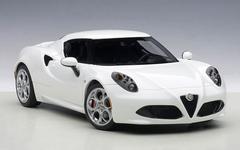 1/18 AUTOart ALFA ROMEO 4C Hardtop (GLOSS WHITE) Diecast Car Model 70185