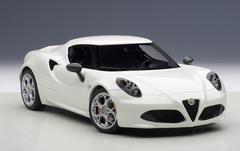 1/18 AUTOart ALFA ROMEO 4C Hardtop (WHITE) Diecast Car Model 70188