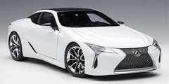 1/18 AUTOart LEXUS LC LC500 LC 500 (METALIC WHITE) Diecast Car Model 78846