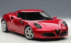 1/18 AUTOart ALFA ROMEO 4C Hardtop (RED) Diecast Car Model 70186