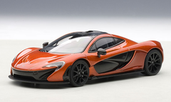 1/43 AUTOart McLAREN P1 (VOLCANO ORANGE) Diecast Car Model 56012