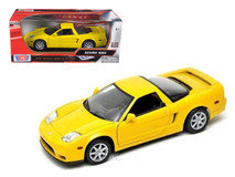 1/18 Motormax Acura NSX (Yellow) Diecast Car Model