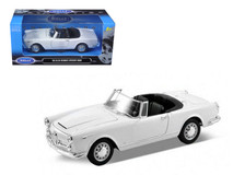 1/24 Welly 1960 Alfa Romeo Spider 2600 Convertible (White) Diecast Car Model