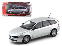 1/24 Motormax Alfa Romeo 159 SW (Silver) Diecast Car Model