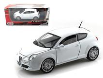 1/24 Motormax Alfa Romeo Mito (White) Diecast Car Model