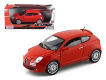 1/24 Motormax Alfa Romeo Mito (Red) Diecast Car Model