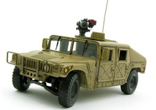 1/24 FRANKLIN US ARMY OPERATION DESERT STORM GENERAL HMMWV HUMMER