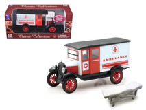 1/32 New Ray 1924 Chevrolet Series H Ambulance Diecast Car Model
