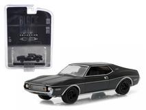 1/64 Greenlight 1973 AMC Javelin Black Bandit Diecast Car Model