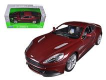 1/24 Welly Aston Martin Vanquish (Bronze) Diecast Car Model