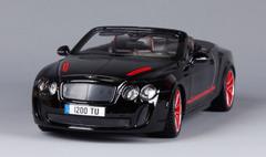 1/18 Bburago 2012 2013 Bentley Continental Supersports ISR Convertible (Black) Diecast Car Model