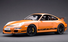 1/18 AUTOart PORSCHE 911 (997) GT3 RS - ORANGE WITH BLACK STRIPES Diecast Car Model 12117