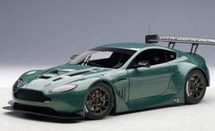 1/18 AUTOart ASTON MARTIN VANTAGE V12 GT3 2013 (GREEN)(2 DOOR OPENINGS) Diecast Car Model 81306