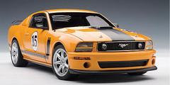 1/18 AUTOart PARNELLI JONES SALEEN MUSTANG #15 - ORANGE Diecast Car Model 73055