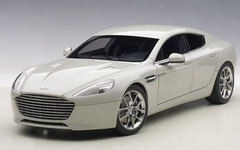 1/18 AUTOart 2015 ASTON MARTIN RAPIDE S(SILVER FOX) Diecast Car Model 70258