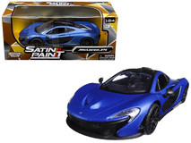 1/24 Motormax McLaren P1 (Matte Blue) Diecast Car Model