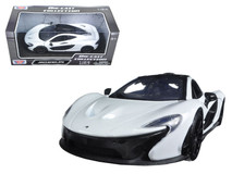 1/24 Motormax McLaren P1 (White) Diecast Car Model