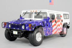 1/18 EXOTO HUMMER HUMVEE H1 MODEL UNITED STATES PRESIDENT BUSH EDITION