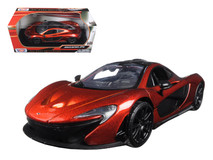 1/24 Motormax McLaren P1 (Orange) Diecast Car Model