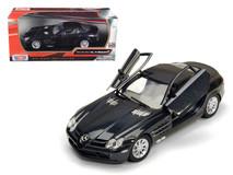 1/24 Motormax Mercedes-Benz Mercedes MB SLR Mclaren (Metallic Black) Diecast Car Model