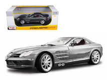 1/18 Maisto Mercedes-Benz Mercedes MB SLR McLaren (Grey) Diecast Car Model