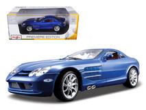 1/18 Maisto Mercedes-Benz Mercedes MB SLR McLaren (Blue) Diecast Car Model