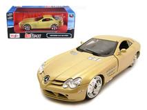 1/18 Maisto Mercedes-Benz Mercedes MB SLR McLaren All Stars (Gold) Diecast Car Model