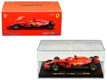 1/43 Bburago Ferrari F1 Formula 1 Racing SF71H #5 Sebastian Vettel Diecast Car Model
