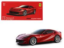 1/43 Bburago Ferrari 812 Superfast Red Signature Series Diecast Car Model