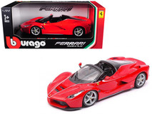 1/24 Bburago Ferrari LaFerrari F70 Aperta (Red) Diecast Car Model