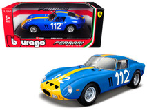 1/24 Bburago Ferrari 250GTO 250 GTO Blue #112 Diecast Car Model