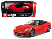 1/24 Bburago Ferrari 599 GTO (Red) Diecast Car Model