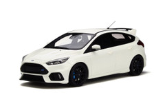 1/18 OTTO Ford Focus RS (White) Enclosed Resin Car Model Limited