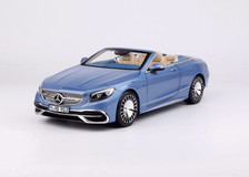 1/18 Dealer Edition Mercedes-Benz MB Maybach S-Class S-Klasse S650 Coupe Convertible (Blue) Diecast Car Model