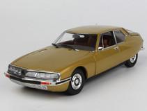 1/18 Norev 1971 Citroen SM (Golden Leaf) Diecast Car Model
