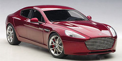 1/18 AUTOart 2015 ASTON MARTIN RAPIDE S(DIAVOLO RED) Diecast Car Model 70257