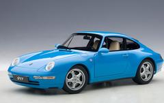 1/18 AUTOart 1995 PORSCHE 911 CARRERA 993 (BLUE) Diecast Car Model 78133