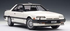 1/18 AUTOart NISSAN SKYLINE HARDTOP 2000 TURBO INTERCOOLER RS-X (DR30) - WHITE Diecast Car Model 77427