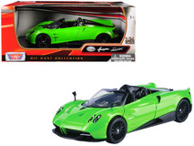 1/24 Motormax Pagani Huayra Roadster Green Diecast Car Model