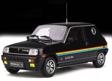 1/18 OTTO Renault 5 Le Car Van LeCar Van Resin Car Model
