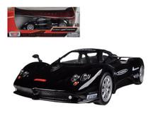 1/24 Motormax Pagani Zonda F Nurburgring Black Diecast Car Model