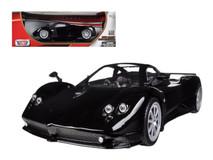 1/18 Motormax Pagani Zonda F Black Diecast Car Model