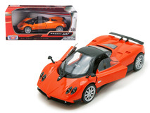 1/24 Motormax Pagani Zonda F Orange Diecast Car Model