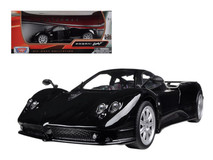 1/24 Motormax Pagani Zonda F Black Diecast Car Model