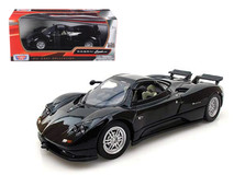 1/24 Motormax Pagani Zonda C12 Black Diecast Car Model